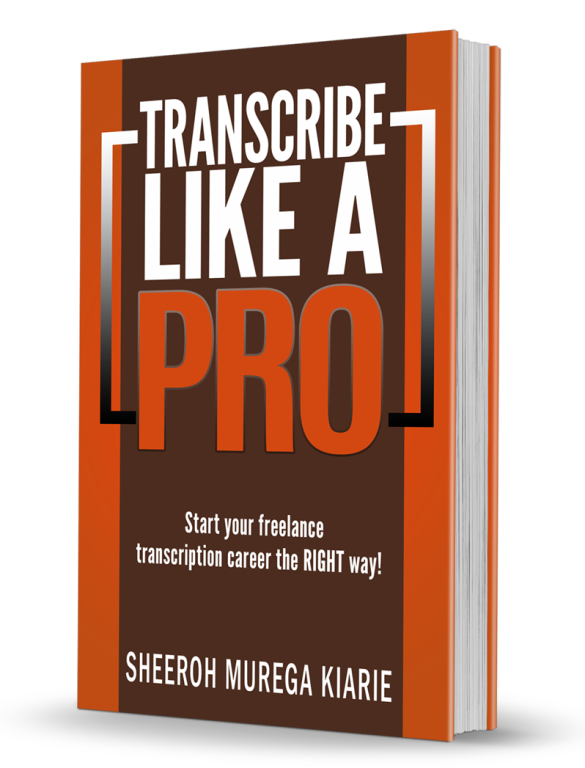Transcription eBook - Work From Home as a Transcriptionist
